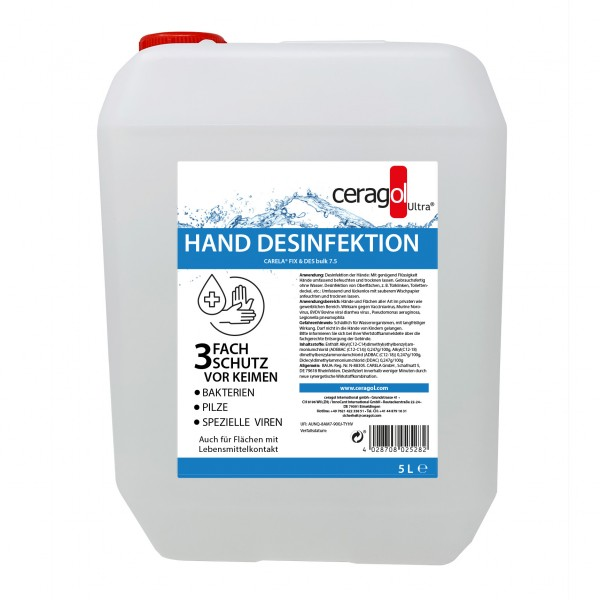 Hand Desinfektion - 5 Liter